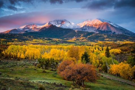 Mt Sopris Sunrise