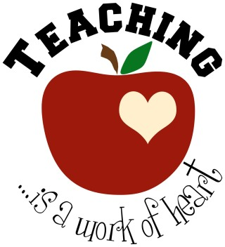 teacher appreciation heart